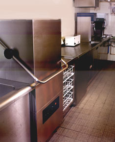Caledonian MacBrayne - Rear Servery Marine Counter